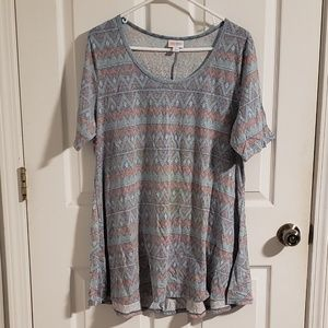 LuLaRoe Geometric Perfect Tee